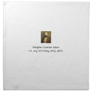 Servilleta De Tela Adolfo Charles Adán, 1855