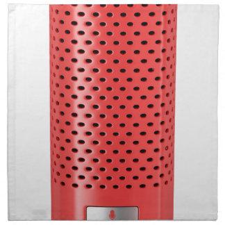 Servilleta De Tela Altavoz elegante rojo