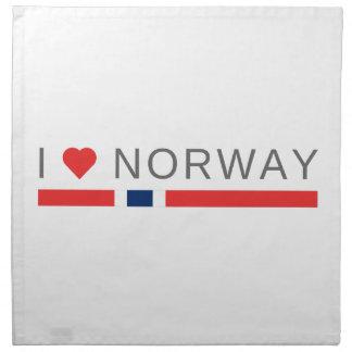 Servilleta De Tela Amo Noruega