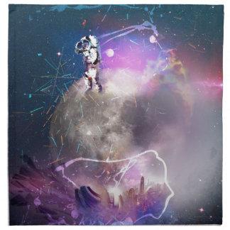 Servilleta De Tela Astronauta que monta Nova estupendo