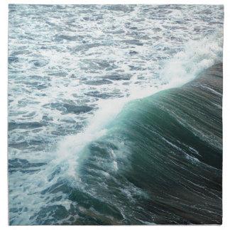 Servilleta De Tela Azul del Océano Pacífico