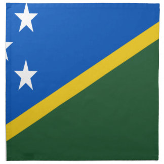 Servilleta De Tela ¡Bajo costo! Bandera de Solomon Island