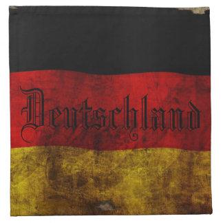 Servilleta De Tela Bandera alemana - Vintag