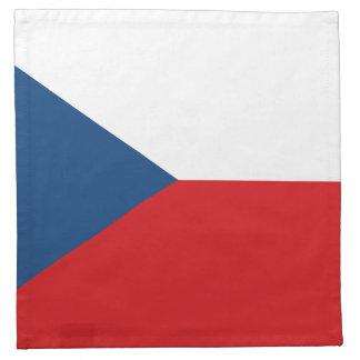 Servilleta De Tela Bandera patriótica de la República Checa