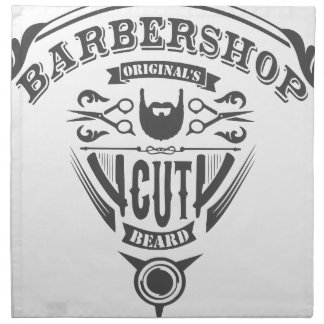 Servilleta De Tela Barbershop originals vintage
