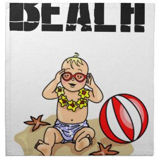 Servilleta De Tela Bebé de la playa