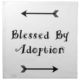 Servilleta De Tela Bendecido por la adopción - acogida