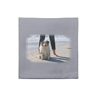 Servilleta De Tela Bennett - mini australiano - Rosie - playa de