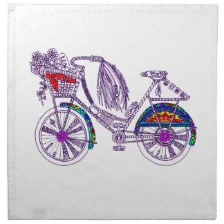Servilleta De Tela Bicicleta