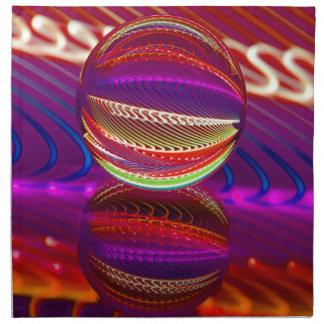 Servilleta De Tela Brillantez en la bola de cristal