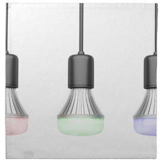 Servilleta De Tela Bulbos del LED con diversos colores