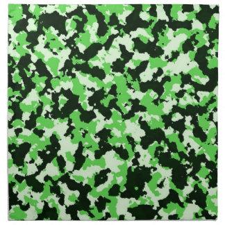 Servilleta De Tela Camuflaje verde