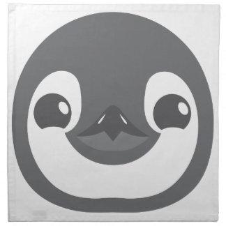 Servilleta De Tela cara del pingüino del bebé