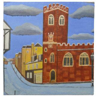 Servilleta De Tela Casa de Tudor en Exeter