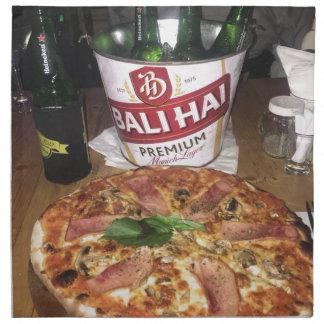 Servilleta De Tela Cerveza y pizza de Bali