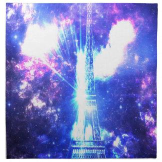 Servilleta De Tela Cielo parisiense iridiscente