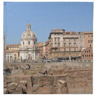 Servilleta De Tela Ciudad antigua de Roma, Italia