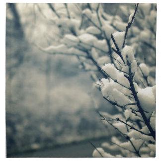 Servilleta De Tela Cojín de ratón del árbol Nevado