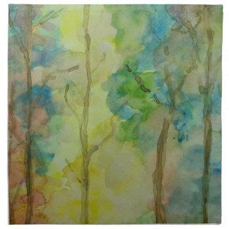 Servilleta De Tela Colores del otoño