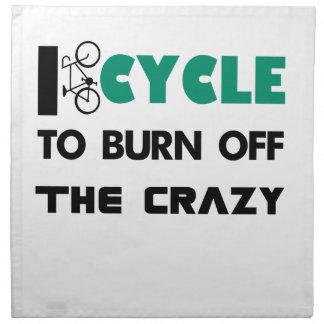 Servilleta De Tela Completo un ciclo para consumir el loco, bicicleta