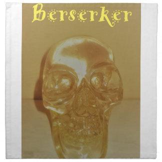 Servilleta De Tela Cráneo de Berserker