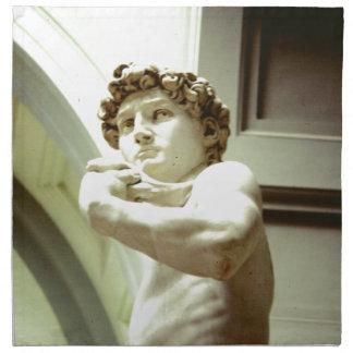 Servilleta De Tela David - la imagen eterna de Florencia