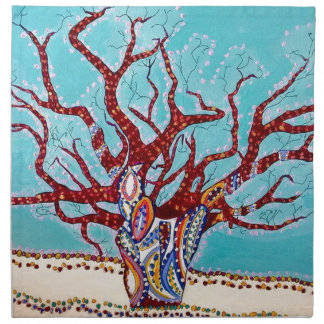 Servilleta De Tela Dicha del árbol de Boab