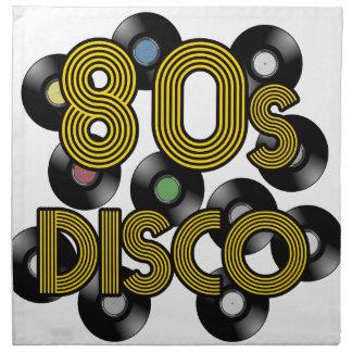 Servilleta De Tela discos de vinilo del disco 80s
