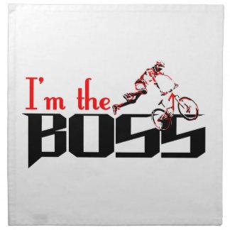 Servilleta De Tela Diseños de la bici de Boss