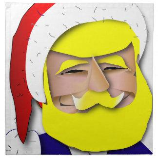 Servilleta De Tela Donald Claus