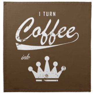 Servilleta De Tela Doy vuelta al café en KOMs
