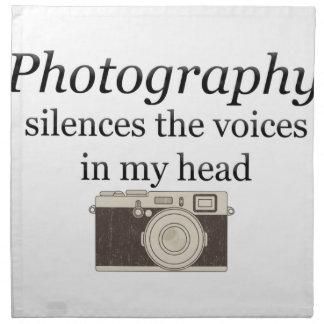 Servilleta De Tela el pstvimhPhotography silencia las voces en mi