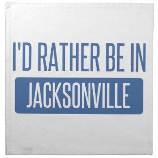 Servilleta De Tela Estaría bastante en Jacksonville FL