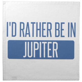 Servilleta De Tela Estaría bastante en Júpiter