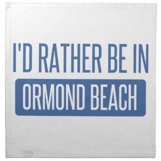Servilleta De Tela Estaría bastante en la playa de Ormond