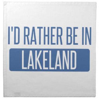 Servilleta De Tela Estaría bastante en Lakeland
