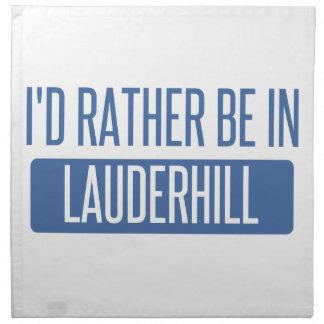 Servilleta De Tela Estaría bastante en Lauderhill
