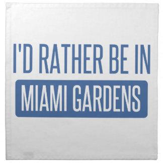 Servilleta De Tela Estaría bastante en los jardines de Miami