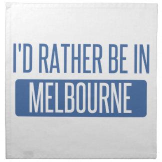 Servilleta De Tela Estaría bastante en Melbourne