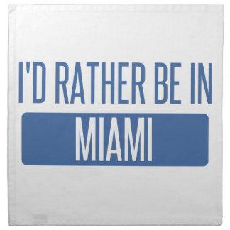 Servilleta De Tela Estaría bastante en Miami
