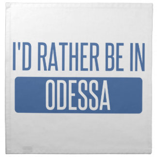 Servilleta De Tela Estaría bastante en Odessa
