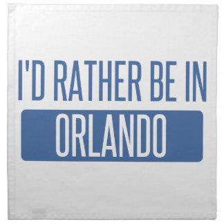 Servilleta De Tela Estaría bastante en Orlando