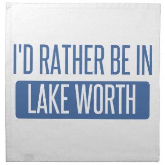Servilleta De Tela Estaría bastante en valor del lago