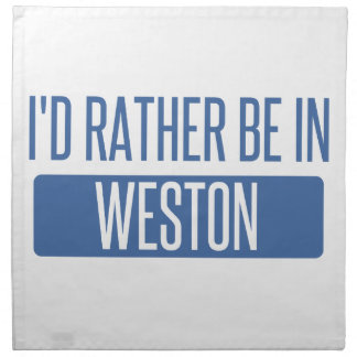 Servilleta De Tela Estaría bastante en Weston