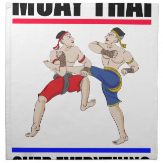 Servilleta De Tela Excesivo tailandés de Muay todo
