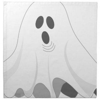 Servilleta De Tela ¡Fantasma de Halloween - ABUCHEO!