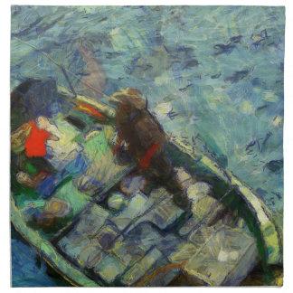 Servilleta De Tela fisherman_saikung Hong Kong