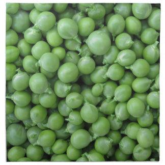 Servilleta De Tela Fondo del guisante verde. Textura de guisantes