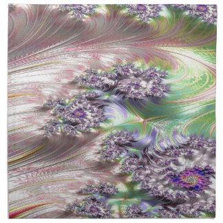 Servilleta De Tela fractal prodigioso del enredo
