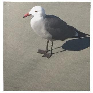 Servilleta De Tela Gaviota en la playa de Sandy